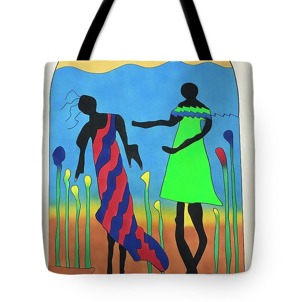 Love In The Reeds Tote Bag
