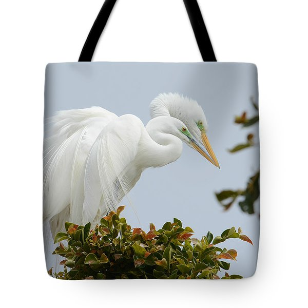 Love In The Treetops Tote Bag