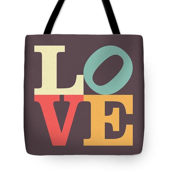 Love Poster Tote Bag