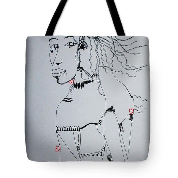 Love Is A Heartt Tote Bag