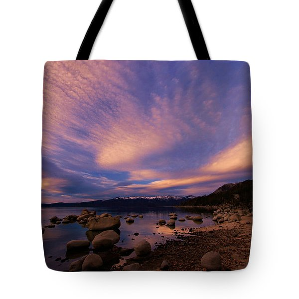 Love Is A Rocky Road Tote Bag by Sean Sarsfield