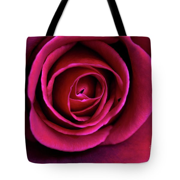 Tote Bag featuring the photograph Love Is A Rose by Linda Lees