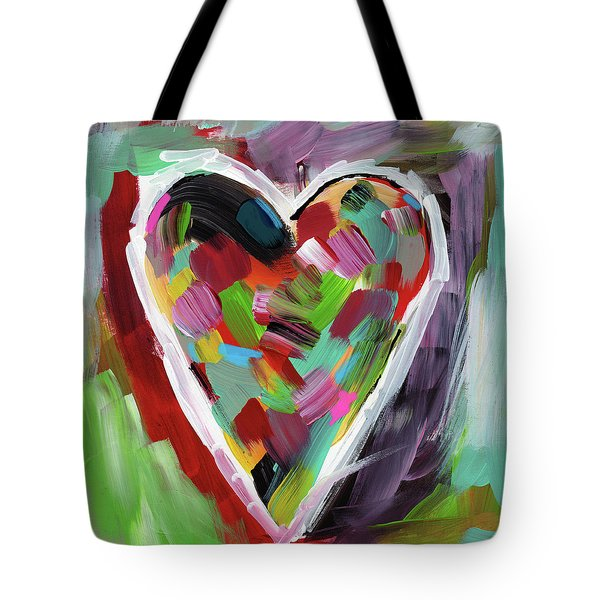 Love Is Colorful 3- Art By Linda Woods Tote Bag