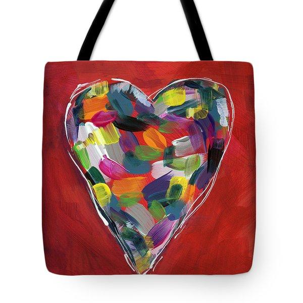 Love Is Colorful - Art By Linda Woods Tote Bag