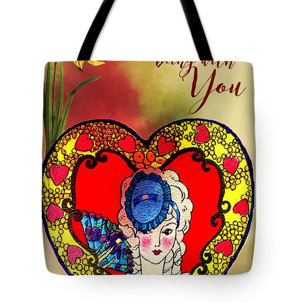 Love Is Tote Bag by Diana Boyd