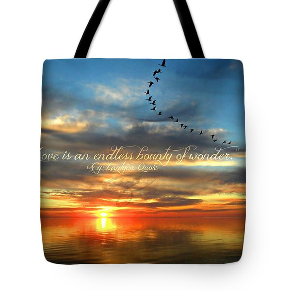 Love Is Endless Wonder Tote Bag