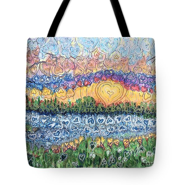 Love Is Everywhere If You Look Tote Bag