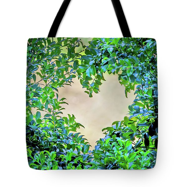 Love Leaves Tote Bag