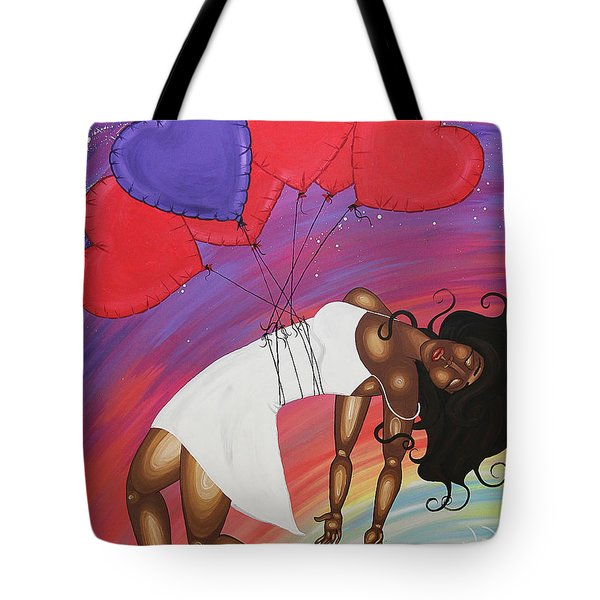 Love Lifts Us Up Tote Bag