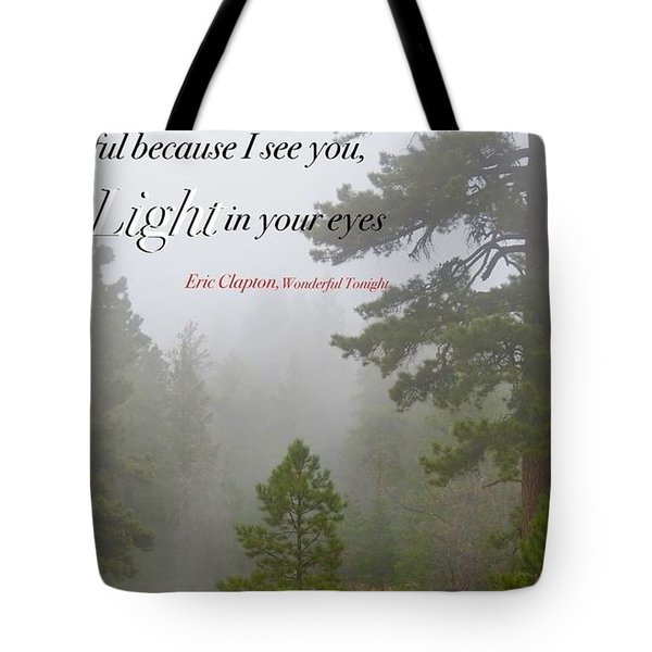 Love Light Tote Bag by David Norman