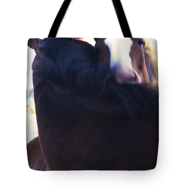 Love Tote Bag by Linda Shafer