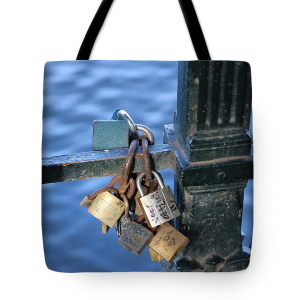 Love Lock Tote Bag