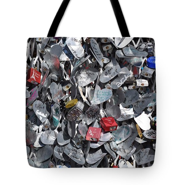 Love Locks On Fremont Street Tote Bag