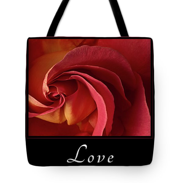 Love Tote Bag by Mary Jo Allen