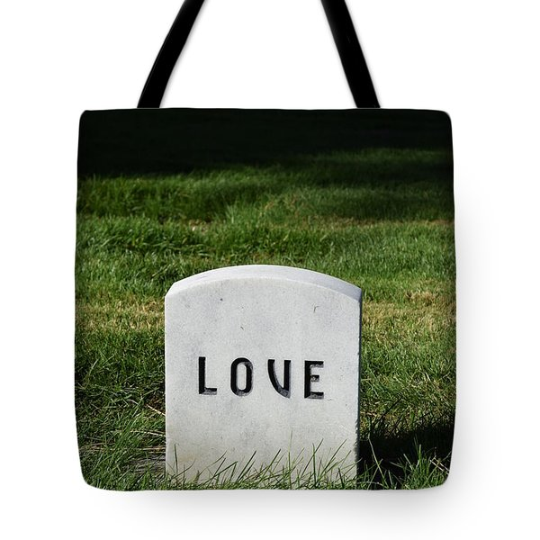 Love Monument Tote Bag
