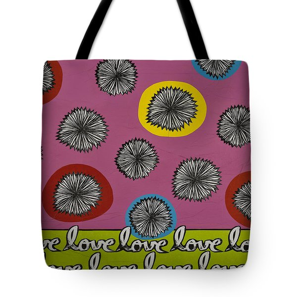 Tote Bag featuring the mixed media Love Multiplied by Gloria Rothrock