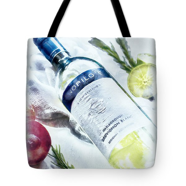 Love My Wine Tote Bag
