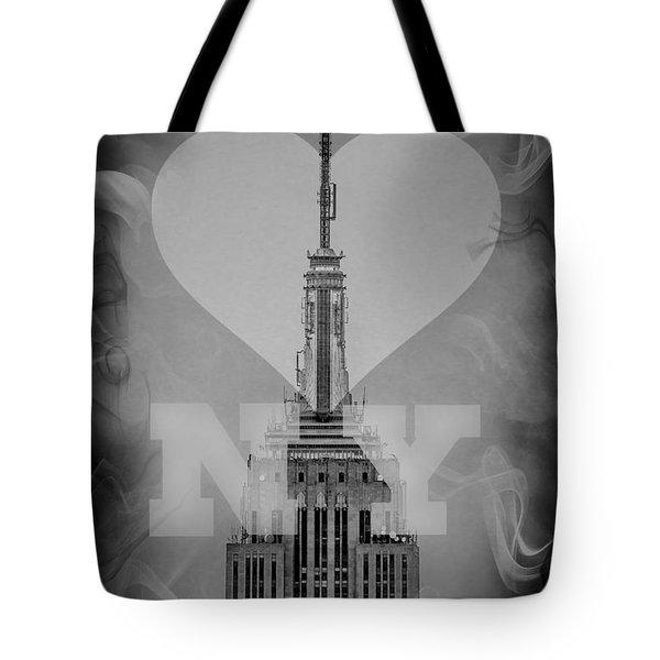 Love New York Bw Tote Bag