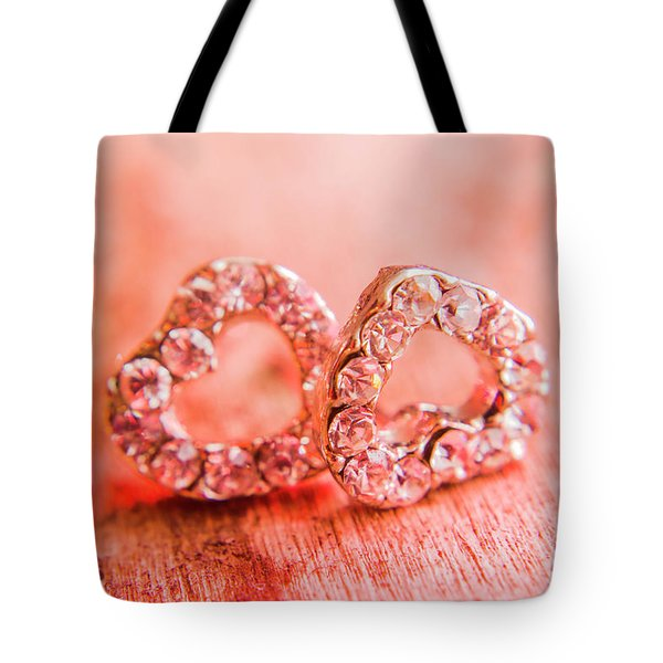 Tote Bag featuring the photograph Love Of Crystals by Jorgo Photography - Wall Art Gallery
