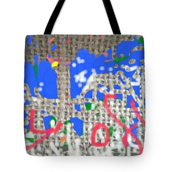 Joy Of Living Tote Bag