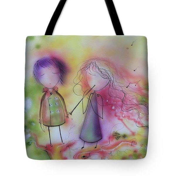 Love Of Music Tote Bag