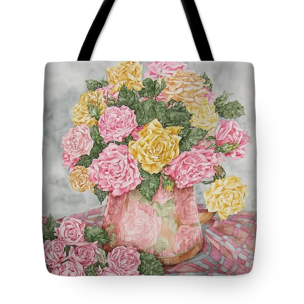 Love Of Roses Tote Bag