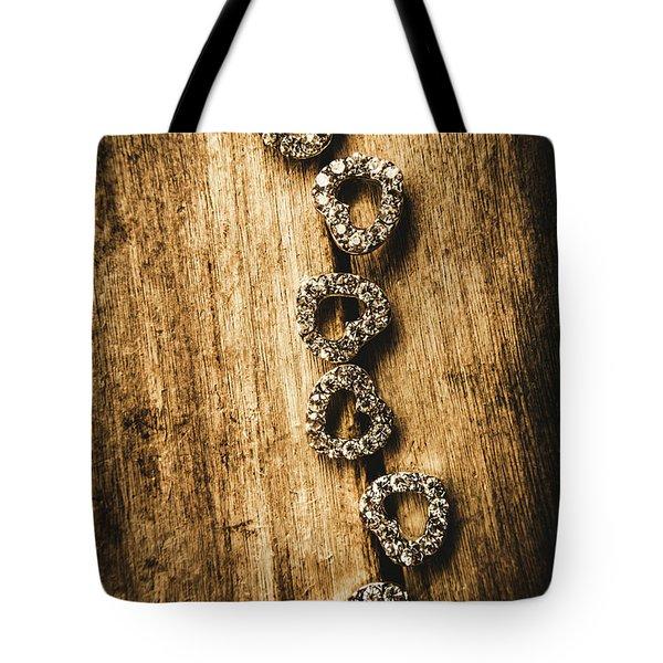 Love Of Rustic Jewellery Tote Bag