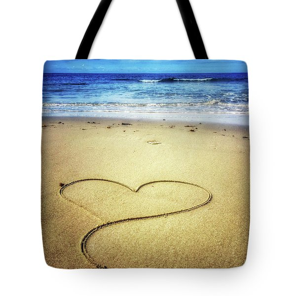 Love Of The Ocean Tote Bag