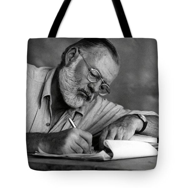 Love Of Writing - Ernest Hemingway Tote Bag