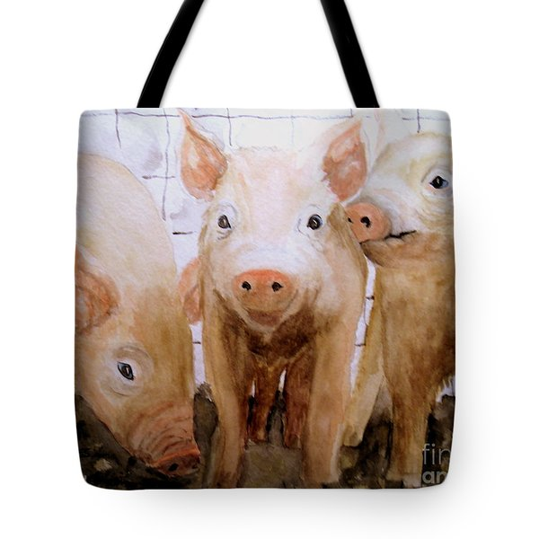 Love On The Farm  Tote Bag