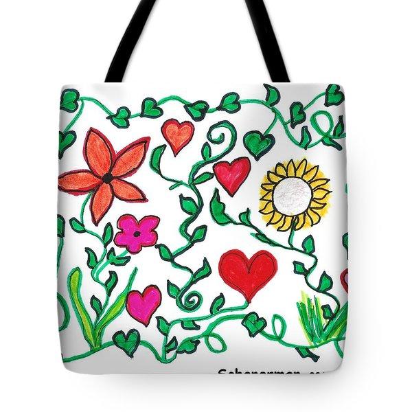 Love On The Vine Tote Bag