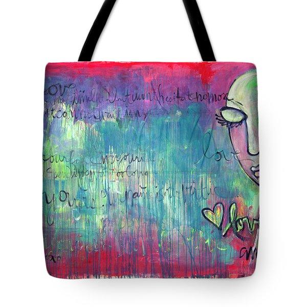 Love Painting Tote Bag