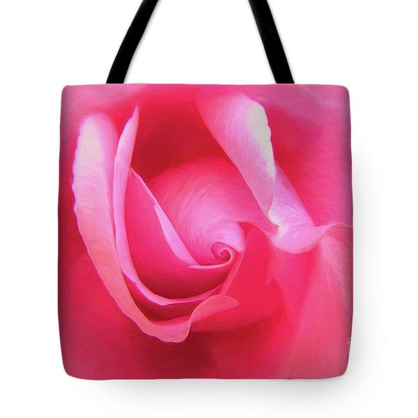 Love Pink Tote Bag