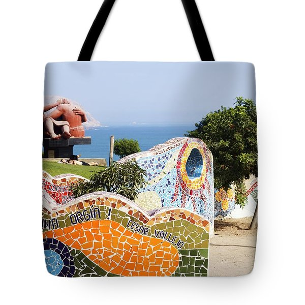 Love Poems By The Sea Tote Bag