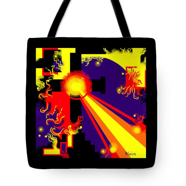 Love Poured Out Tote Bag by Yvonne Blasy