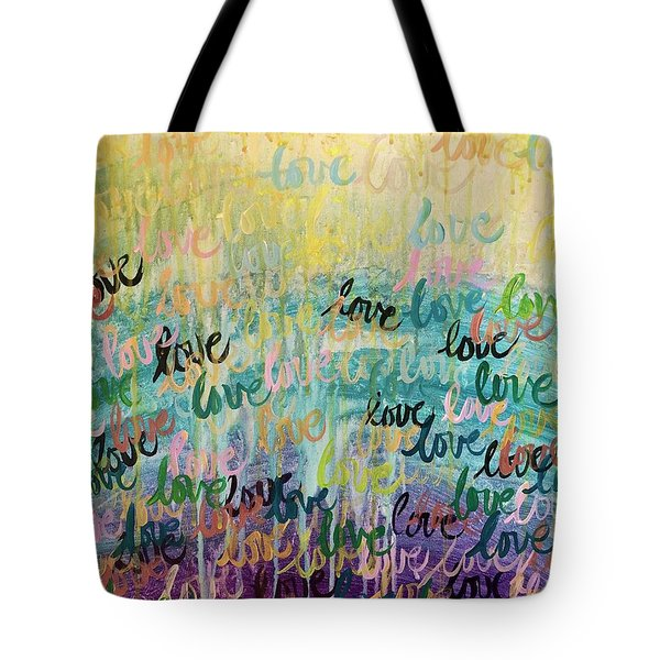 Love Reigns Tote Bag
