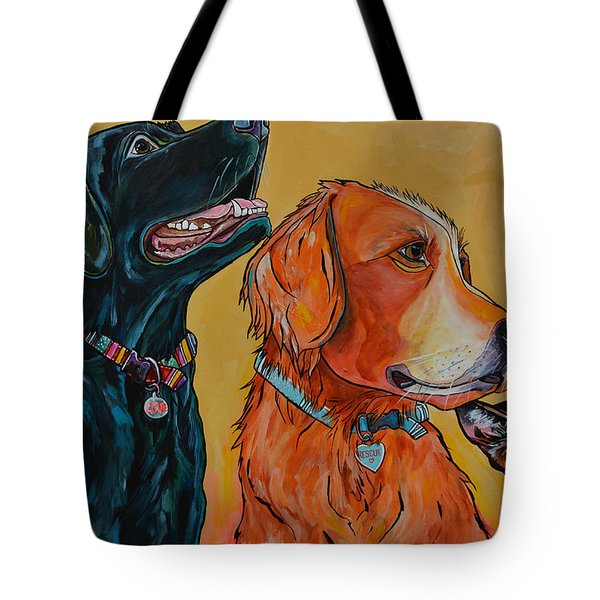 Love Rescue Spay Tote Bag