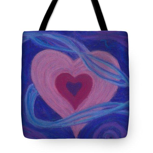 Love Ribbons Tote Bag