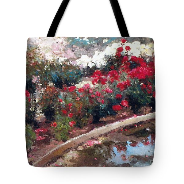 Tote Bag featuring the painting Love by Rosario Piazza