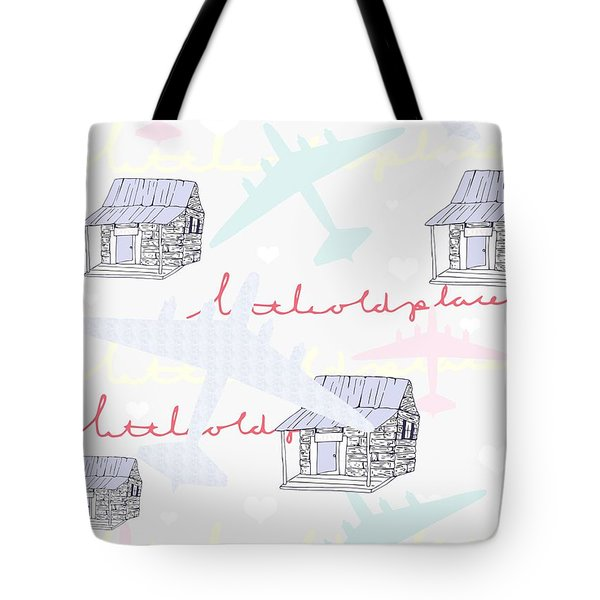 Love Shack Tote Bag by Beth Travers
