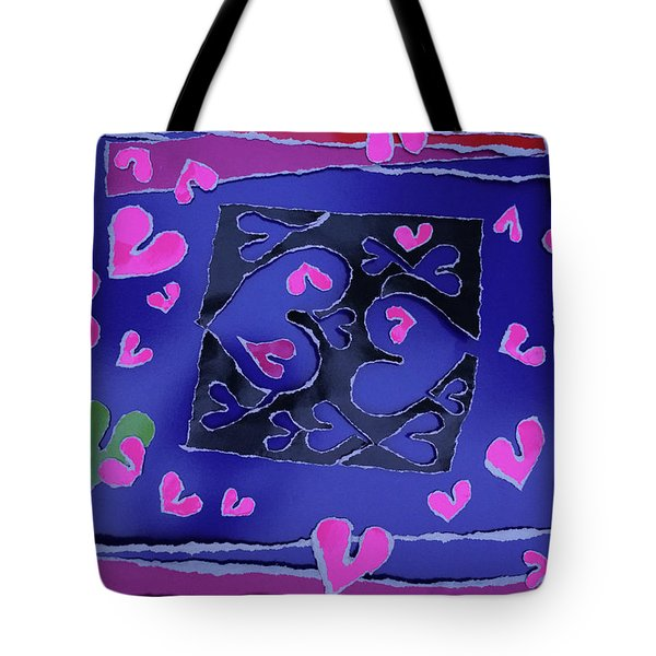 Love Soul Love Skeloton And The Subject Of Life Tote Bag