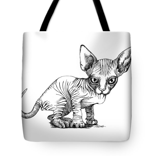Love Sphynx Tote Bag