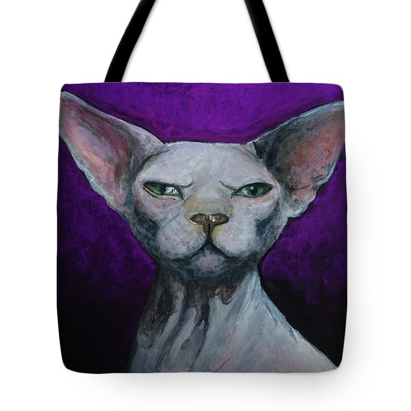 Love Sphynx Cat Tote Bag