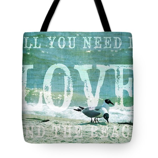Tote Bag featuring the photograph Love The Beach by Jan Amiss Photography