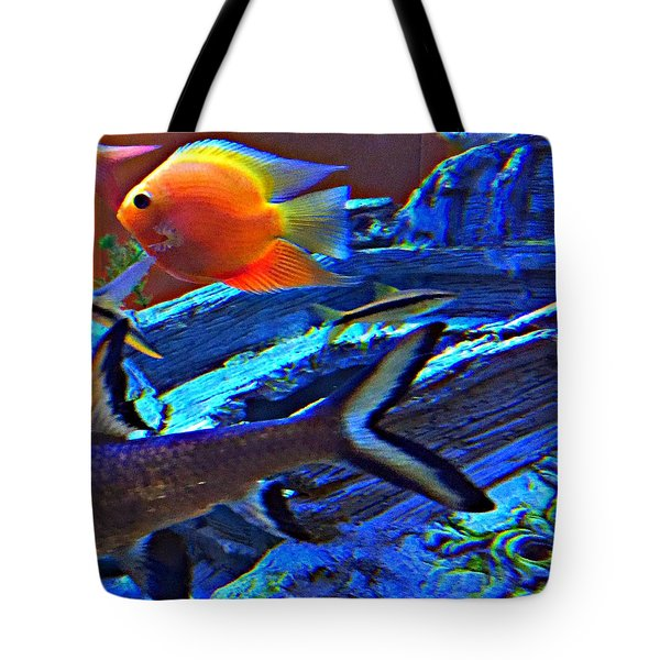 Tote Bag featuring the photograph Love The Sea by Peggy Stokes