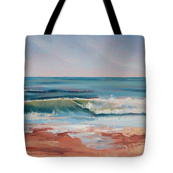 Love The Surf Tote Bag by Trina Teele
