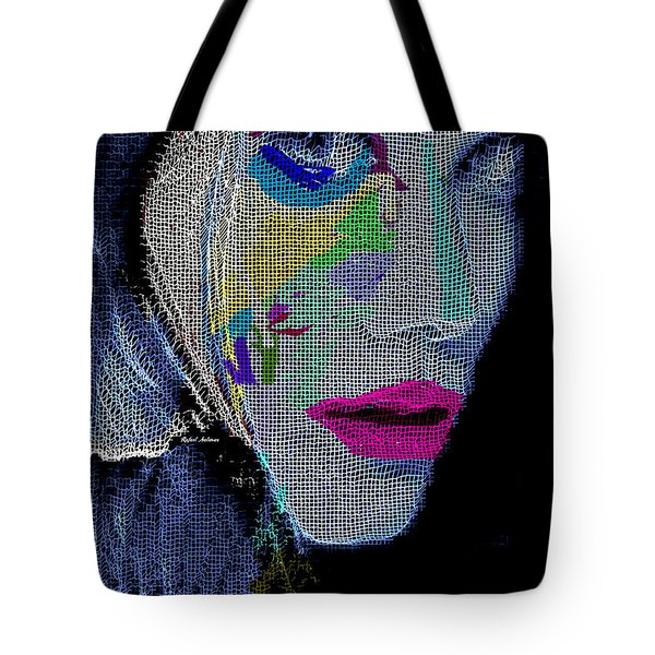 Tote Bag featuring the digital art Love The Way You Look by Rafael Salazar