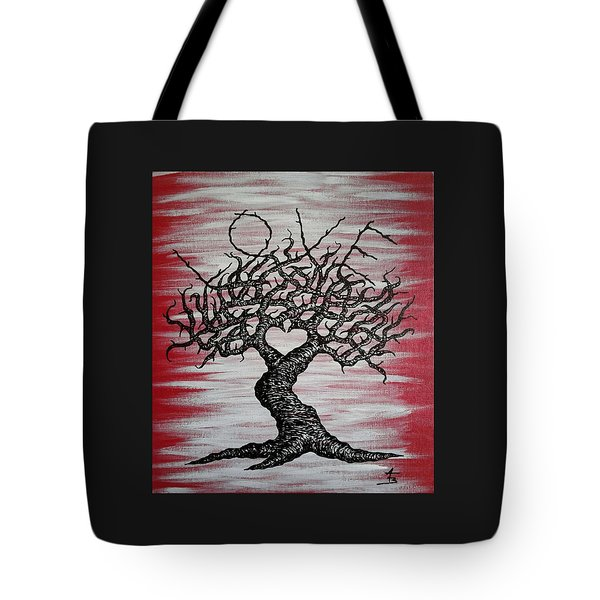 Love Tree Art Tote Bag