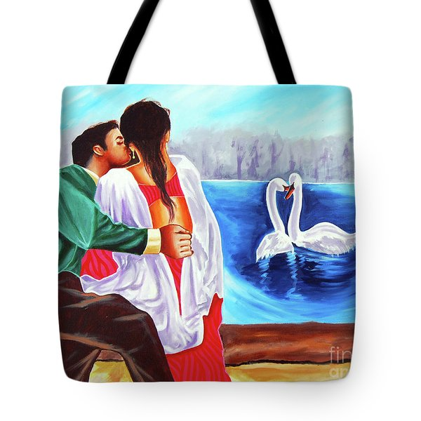 Love Undefined Tote Bag by Ragunath Venkatraman