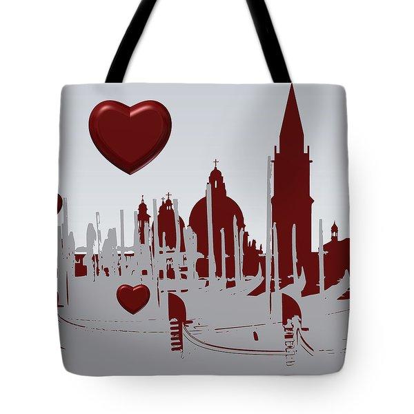 Love Venice Tote Bag